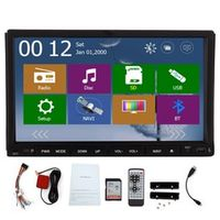 "EinCar Double 2 Din FM AM Car Radio GPS Navi 3D Map CD DVD Player Bluetooth 7"" HD"