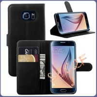 For Coque Samsung Galaxy S6 Case Cover Luxury Flip Stand Wallet Leather Case For Samsung Galaxy S6 S 6 Edg With Card Holder capa