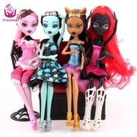 UCanaan 4 PCS/Set Style Movable Joint Body Girls bjd doll