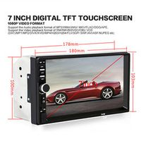 "Ai CAR FUN 7018B 7"" Bluetooth2.0 2DIN Radio Audio Stereo Handsfree TFT Taouch Screen"
