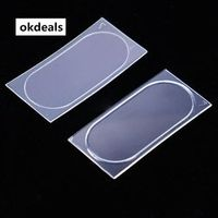 okdeals Tempered Glass Camera Lens Flash Lamp Back Protector Cover For Iphone 8 New