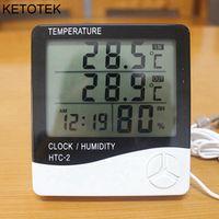 KETOTEK Digital LCD Thermometer Hygrometer Electronic Temperature Humidity Meter