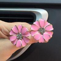 kongyide Car multiflora Flower Air Outlet Fragrant Perfume Clip Air Freshener