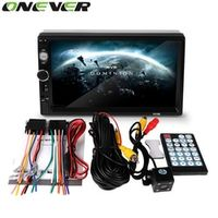 Onever 2 Din 7 inch Bluetooth MP4 MP5 Player HD Touch Screen Support Rear View Camera