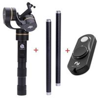 Feiyu FY G4 3 Axis Handheld Gimbal Remote Control Extension Pole Reach Steady Camera Mount for Go Pro Hero 4 3 3+