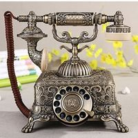 Antique old fashioned rotary dial telephone paramount 1933