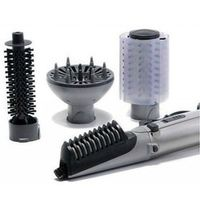 electric Diffuse salon straightener hair dryer brush combo