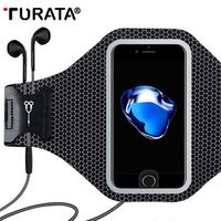 TURATA Universal Sports Case For iPhone 6 6S 7 Plus Smart Touch GYM Running Fitness