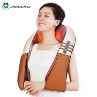 with Gift Box JinKaiRui U Shape Electrical Shiatsu Back Neck Shoulder Body Massager