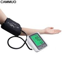 CAMMUO Arm Blood Pressure Pulse Monitor Wrist Digital Upper Portable Meters