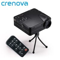 Crenova H80 Support Full HD 1080P Video Mini Portable LED Projector Home Theater