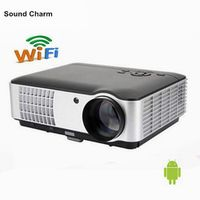Sound charm Native Full HD 1080P Led Digital Smart 3D For Home Theater Projector