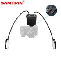 SAMTIAN Professional 24LED 5500k Macro Flash Speedlite Metal Hose Arbitrary