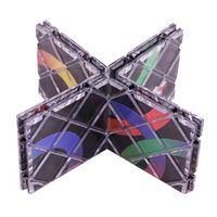 LAIMALA Lingao 8 Panels Folding Puzzle Twisty Cubo Magico