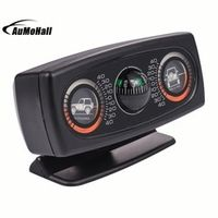 AUMOHALL Multifunction Vehicle Compass Car Inclinometer Slope Measure Inclination