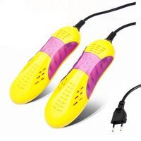 Free Post 220V 10W EU plug Race car shape voilet light shoe dryer foot protector boot odor Deodorant device shoes drier heater