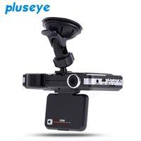 pluseye 2 in 1 Car DVR 1080P HD dash cam detector anti radar Motion Detection