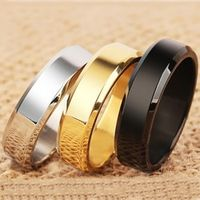 Stainless Steel Ring Wedding Bands ring