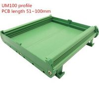 UM100 PCB length: 51-100mm profile panel base housing DIN Rail mounting adapter