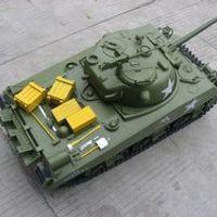 1/6 M4A3 Sherman Tank - 75mm Gun GP RTR GT602R