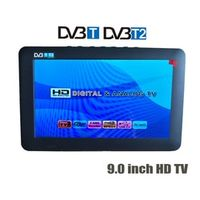 LEADSTAR HD 9 Inch Digital Analog TV Receiver TF Card USB Audio Video Playback