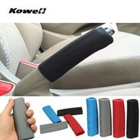 KOWELL Universal Silicone Anti-Slip Car Handbrake Lever Cover Interior Parts Auto