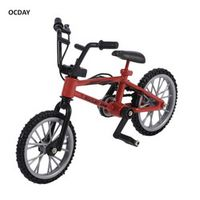 OCDAY Simulation Alloy bmx Bike Children Red finger board