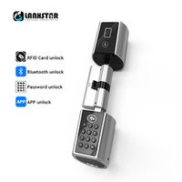 LANXSTAR Durable Smart Lockcore Mechanical Transformation Replacement Intelligent