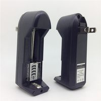 Electronic Cigarette Rechargeable Dry Battery US or EU Wall Charger for 18650 18350 16340 Battery