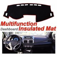 Litanglee Dashboard Mat Factory Shape pad Protection Cover Carpet Dashmat Special