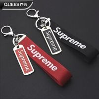 QUEES Car Key Ring Chain Supreme for Ford BMW VW Mercedes Toyota Honda Peugeot