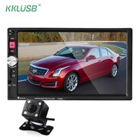 kklusb 7 Inch Touch Screen 7080B Car Radio 2 Din 2din In Dash Player bluetooth MP3