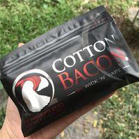 Original High Quality Cotton Bacon V2 rda Cotton For RDA RBA Atomizer e cig DIY Electronic Cigarette Heat Wire Organic cotton