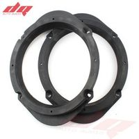 DQ 2 PCs Speaker Spacer 6.5'' for Mazda M3 M5 M6 M8 Car Audio Horn Refit Rings Mat