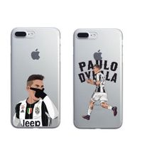 LOVINA CASES Coque Sport Football Soccer Star for iPhone 5 5S 6 6SPlus 7 7Plus