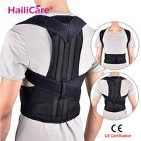 Hailicare Back Posture Corrector Shoulder Lumbar Brace Spine Support Belt Adjustable