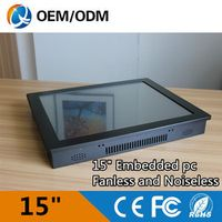 "15"" USB/RS232 rugged tablet pc industrial with Inter j1900 1.99GHz cpu resolution"