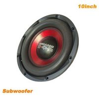 I KEY BUY High-end 10inch 600W Magnet 120 50 Core High Power Overweight Car Audio