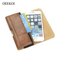 icovercase Stone Pattern PU Leather Belt Clip Pouch Holster Case for Asus Zenfone AR