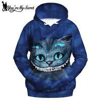 You're My Secret Alice Cat 3d Print Women Hoodies
