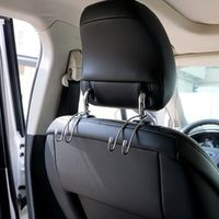 sikeo Convenience Hanger Holder Hook for Bag Purse 1 Pair Stainless Steel Car Seat