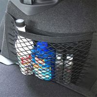 wupp Vehicle Car Styling Auto Back Rear Trunk Seat Elastic String Net Mesh
