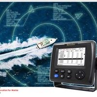 "Matsutec HP-33A 4.3"" Color LCD Class B AIS Transponder Combo High Marine"