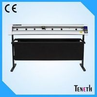 TENETH Factory Supply Leather cutting plotter with artcut software for vinyl cutter