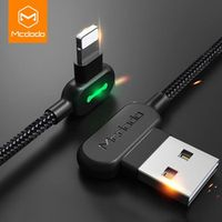 MCDODO USB Cable For iPhone X XS MAX XR 8 7 6 5 6s S plus Fast Charging Mobile Phone