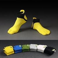 6Pairs/High Quality Fashion Elegant Men Socks Male Casual Cotton Toe Socks Men Brand Five Finger Socks Male Summer Short Socks