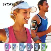 SYCASE S SIZE Waterproof PU Running Arm Band Case For iPhone 4 4s Holder Pouch Key