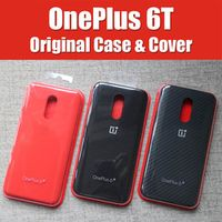 A6013 Official OnePlus 6t Case 1 6T 6 bespoke Silicone Sandstone Nylon Karbon Bumper