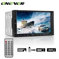 Onever 7 Inch Android Bluetooth CarMP5 Stereo Touch Screen Car Radio Player Support