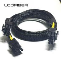LODFIBER 8pin to 6 8pin Power Cable for DELL R410 Intel Xeon Phi GPU 35cm